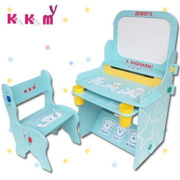 【kikimmy】可愛小熊兒童畫板書桌