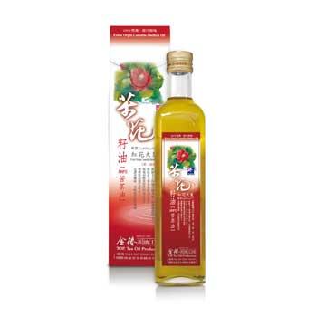 【金椿茶油工坊】紅花大菓~茶花籽油500ml